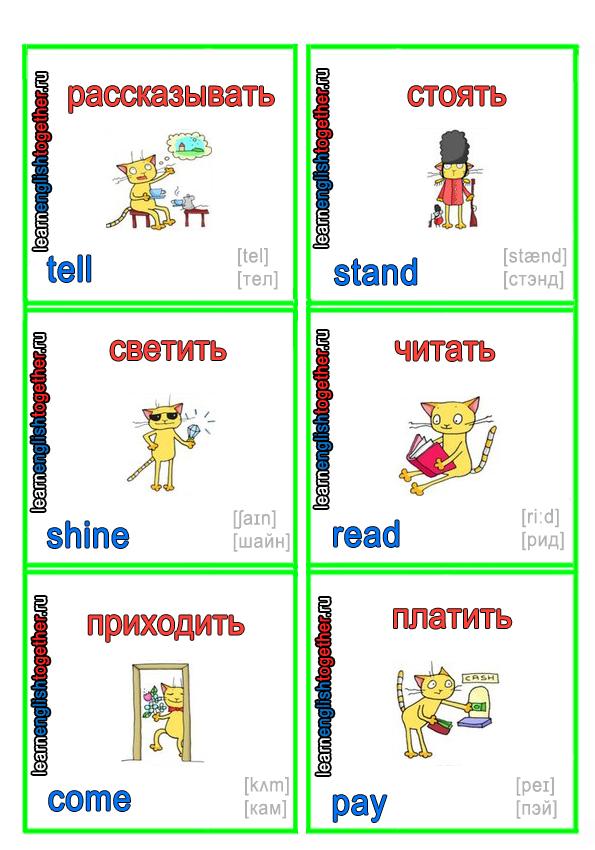 английский язык для начинающих, как выучить английский, английский в картинках